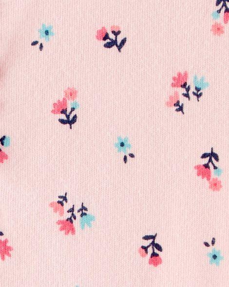 Barboteuse volantée fleurie