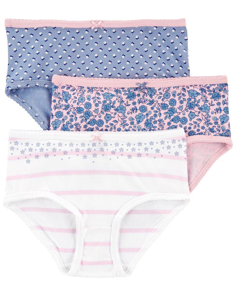 3-Pack Cotton Undies, , hi-res