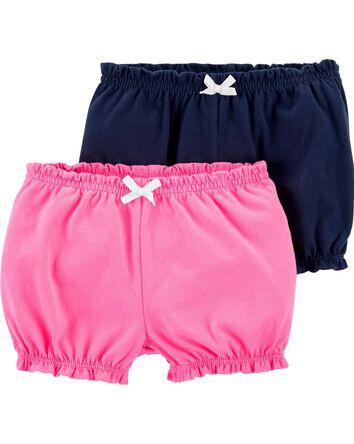 2-Pack Cotton Shorts