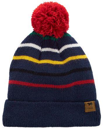 Striped Knit Hat