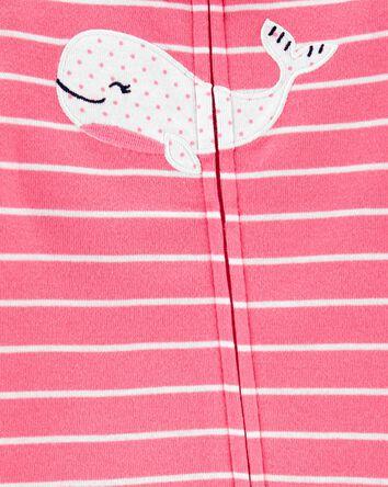 Whale Zip-Up Footless Sleep & Play