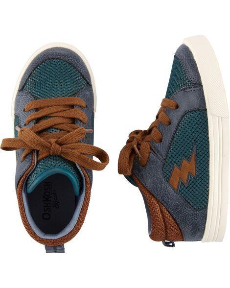Chaussures à tige mi-haute à motif éclair