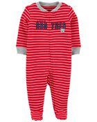 Little Brother 2-Way Zip Cotton Sleep & Play, , hi-res