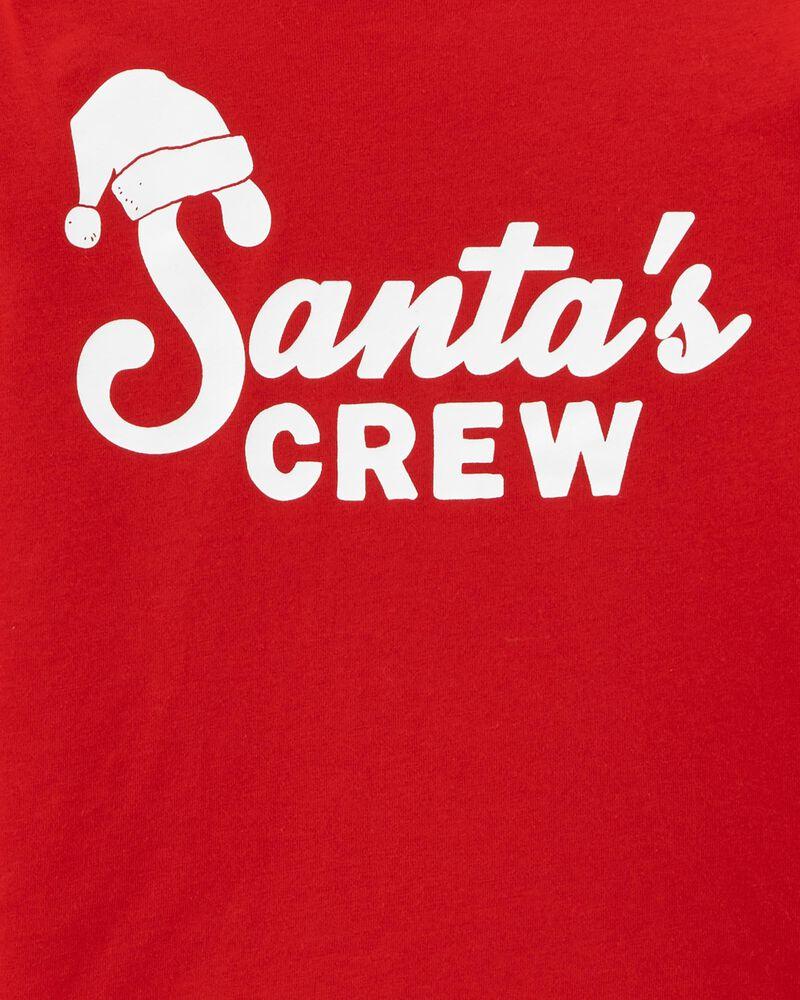 T-shirt en jersey à encolure montante Père Noël , , hi-res