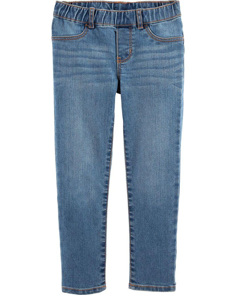 Pull-On Jeggings - Laurel Blue Wash, , hi-res