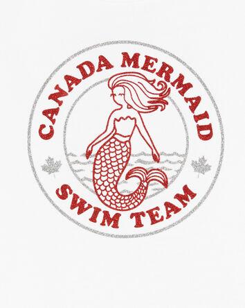 Canada Mermaid Swim Team Tee