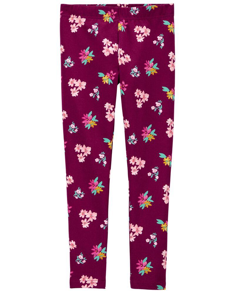 Legging fleuri, , hi-res