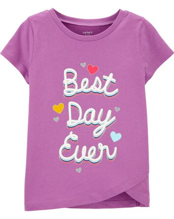Best Day Ever Jersey Tee