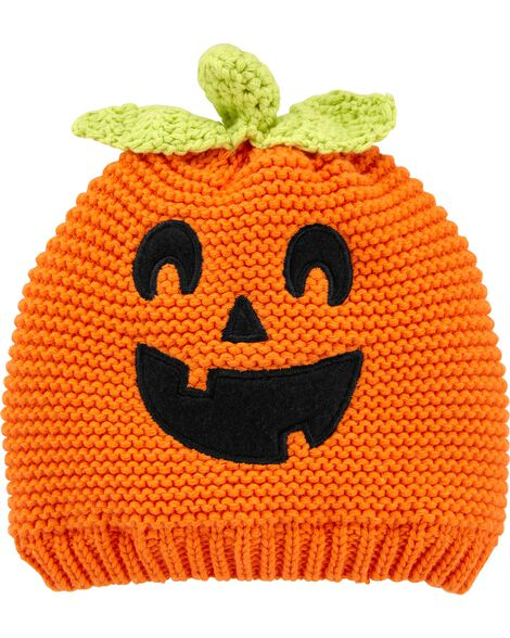 Pumpkin Knit Cap