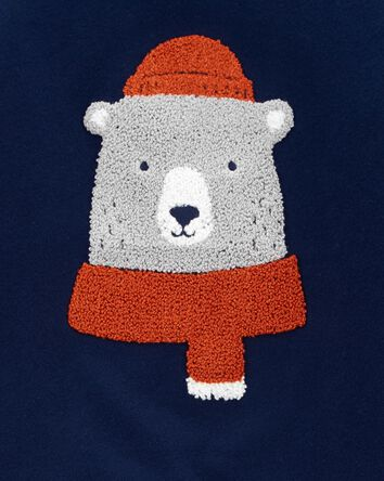 Bear Fleece Pullover