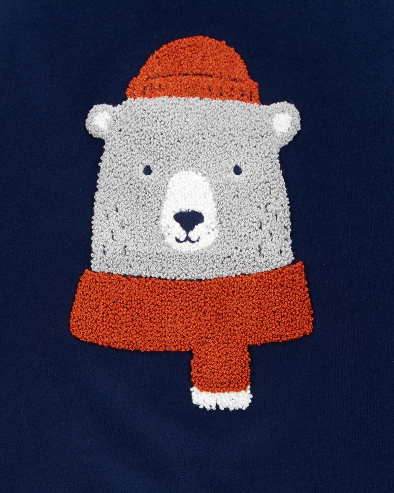 Bear Fleece Pullover, , hi-res