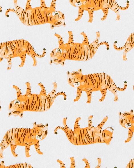 2-Piece Tiger Tee & Twill Overalls Set