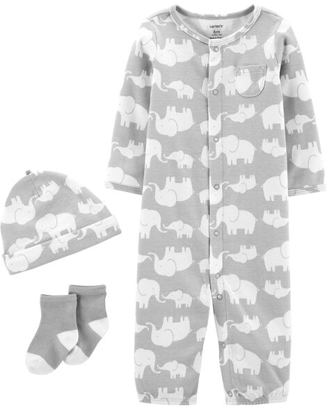 3-Piece Elephant Take-Me-Home Set