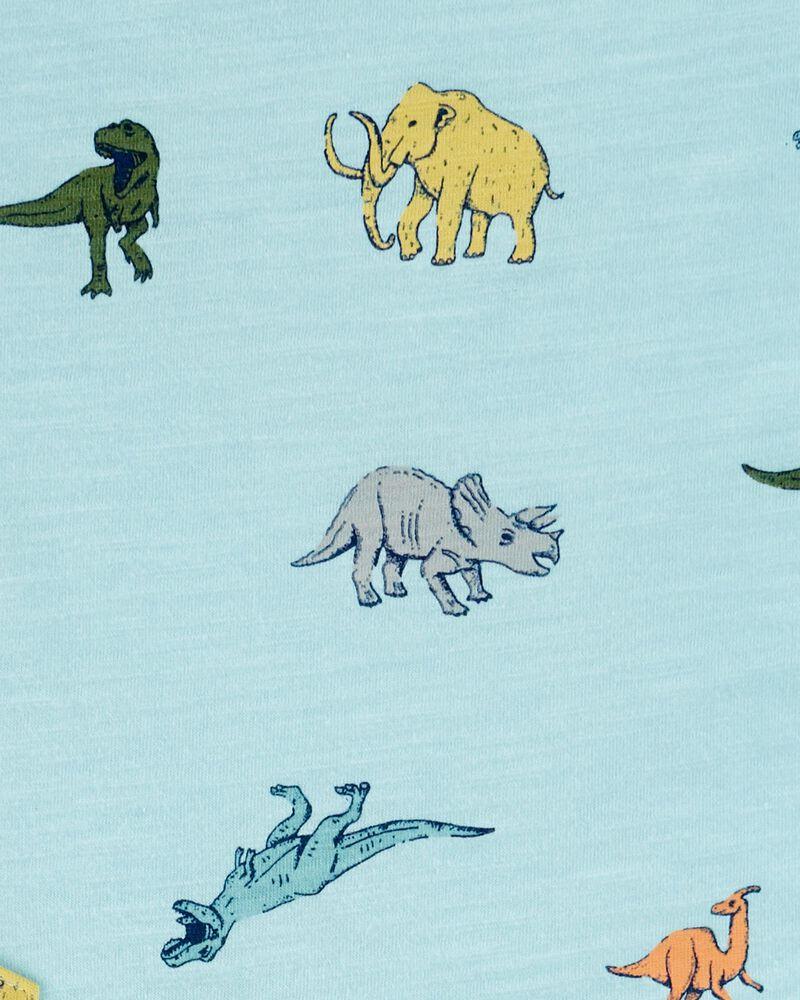 Dinosaur Print Henley, , hi-res