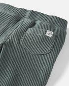 Emballage de 2 pantalons en coton côtelé certifié biologique isotherme, , hi-res