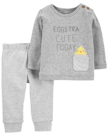 2-Piece Easter Outfit Set