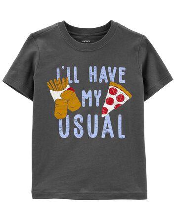 T-shirt en jersey Food