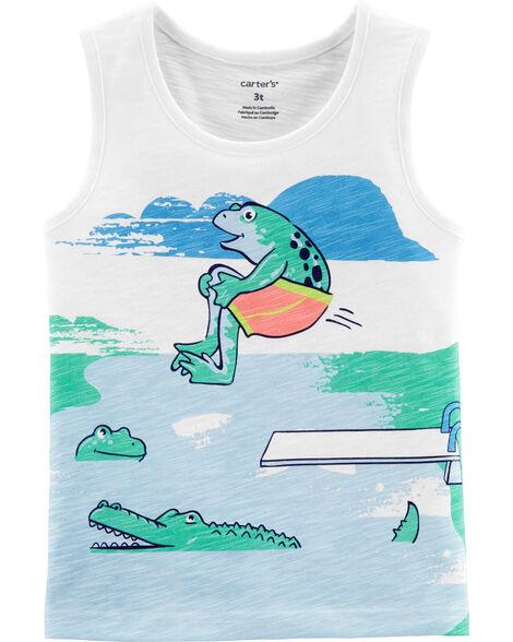 Cannonball Frog Slub Jersey Tank