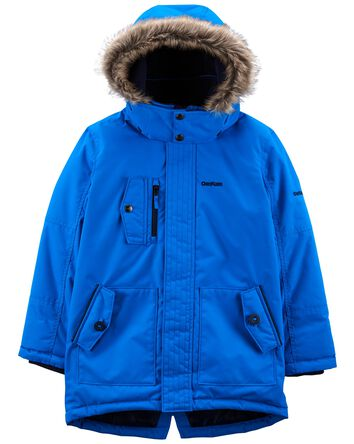 Fleece-Lined Heavyweight Hooded Par...