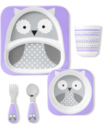 ZOO Winter Melamine Gift Set- Owl