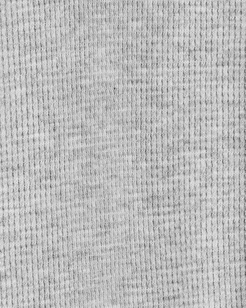 Grenouillère à glissière 2 sens en coton de couleur contrastante, , hi-res