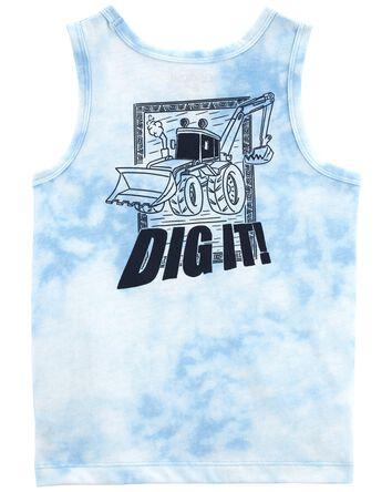 Front-&-Back Tie Dye Tank