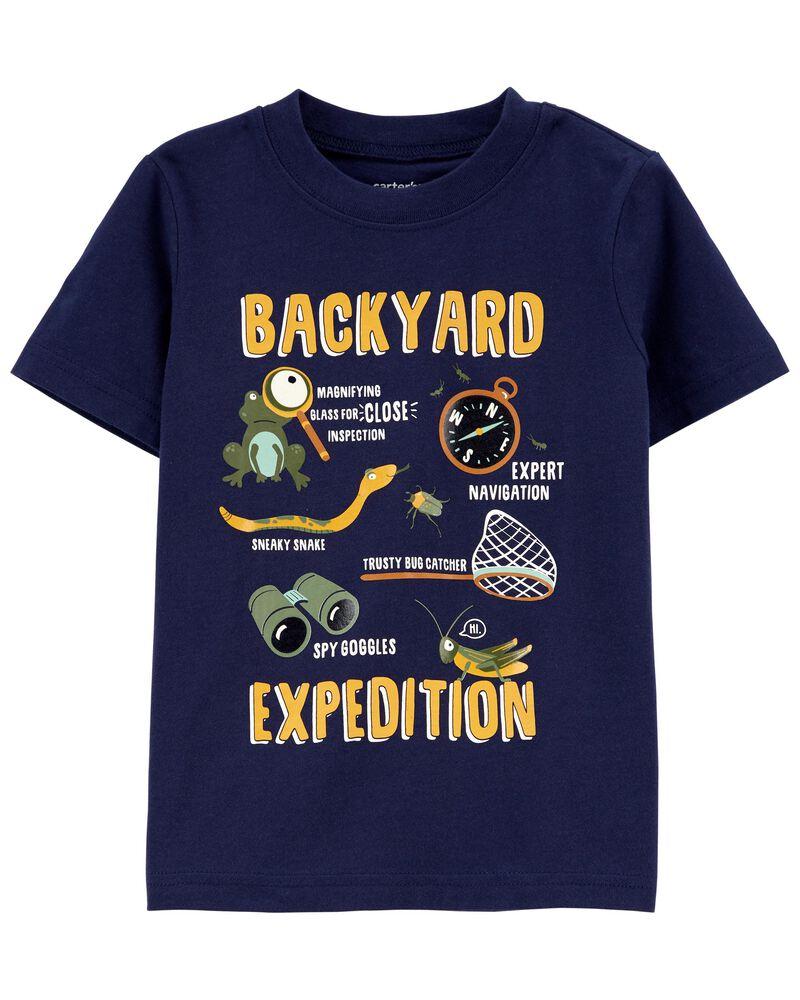 T-shirt en jersey Backyard, , hi-res