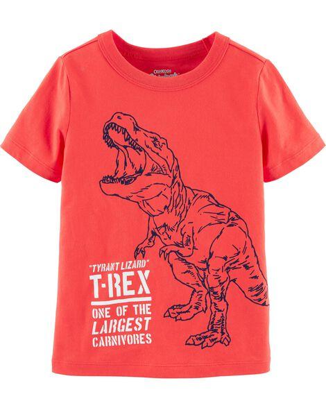 T-shirt à imprimé original de tyrannosaure
