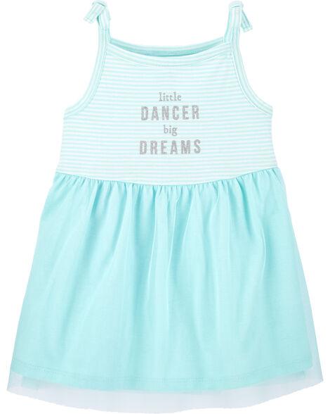 Striped Dancer Tutu Dress