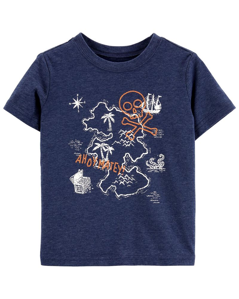 Ahoy Matey Embroidered Tee, , hi-res