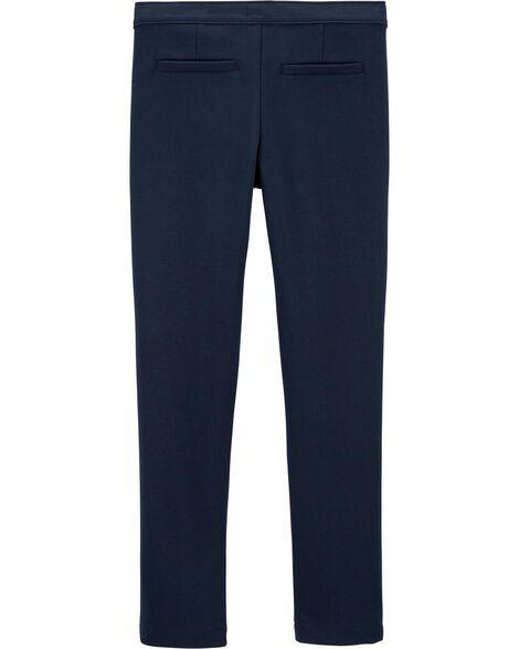 Pantalon d'uniforme scolaire en ponte