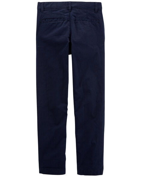 Slim Stretch Uniform Chinos
