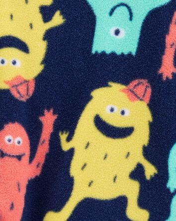 1-Piece Monster Fleece Footless PJs