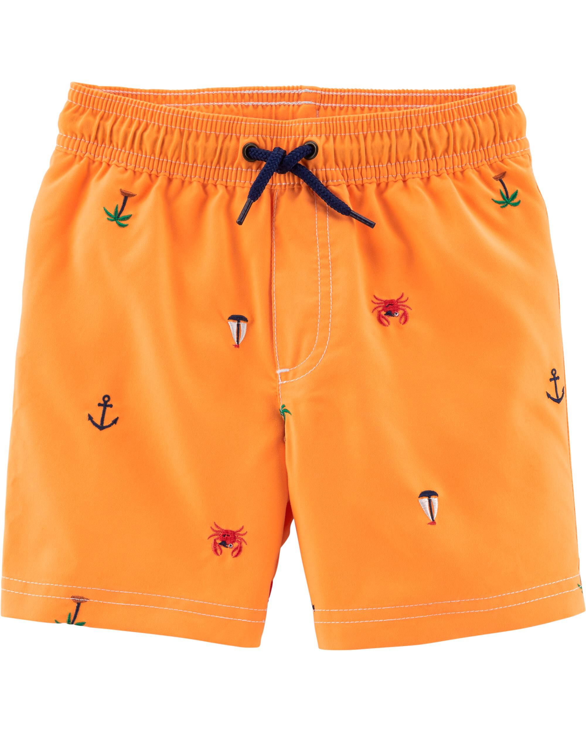 Osh Kosh B/'gosh Toddler Boys/' Palm Tree Swim Short Size 2T 3T $26