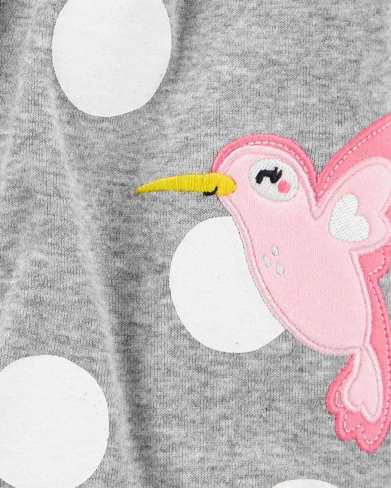 Bird Snap-Up Romper, , hi-res