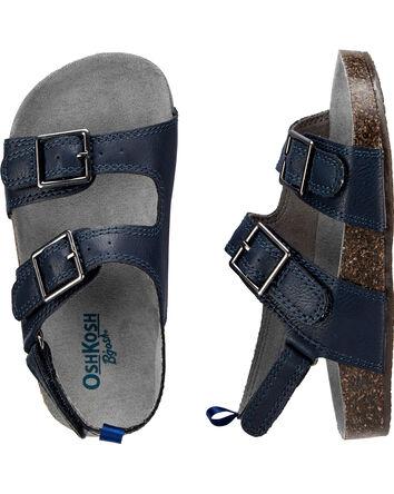 Sandales à boucles