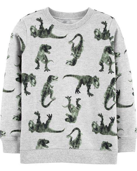 Dinosaur Pullover Sweatshirt