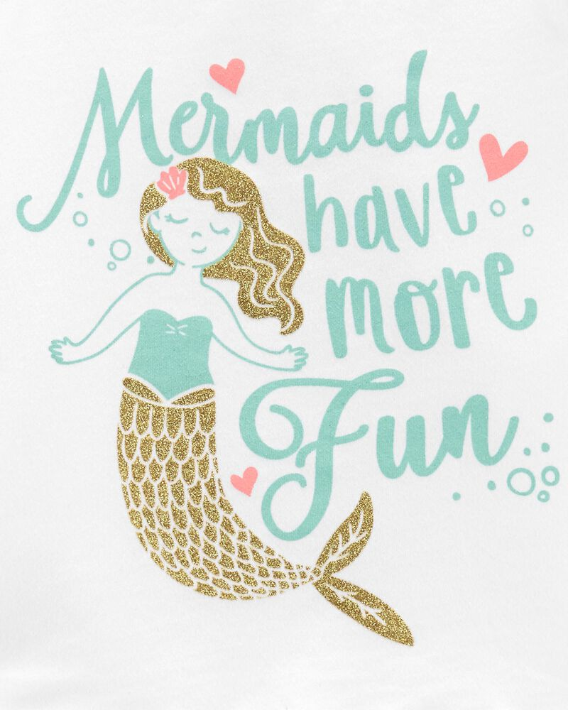 2-Piece Mermaid Tank & Short Set, , hi-res