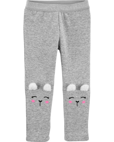 Llama Cozy Fleece Leggings