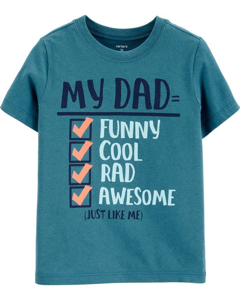 Dad Checklist Jersey Tee, , hi-res