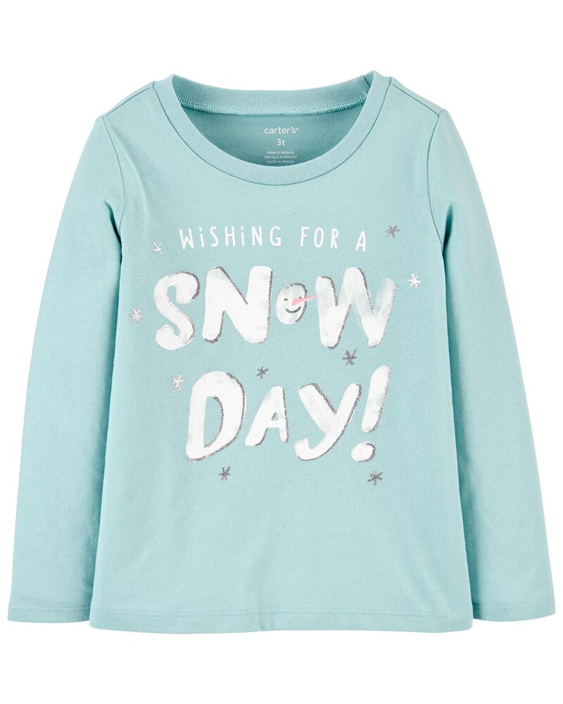 Snow Day Jersey Tee, , hi-res