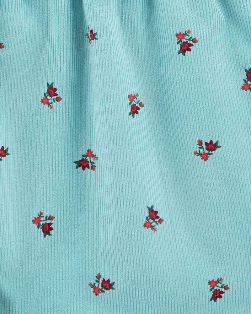3-Piece Tee & Floral Jumper Set, , hi-res
