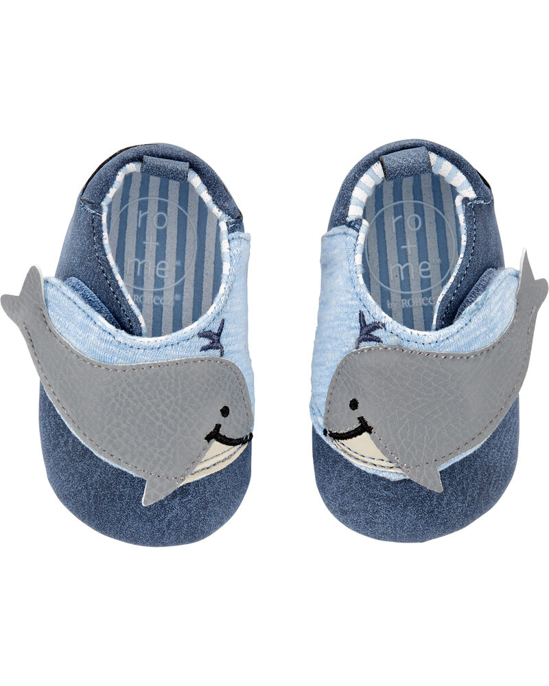 Robeez Wallace Soft Sole Baby Shoes, , hi-res
