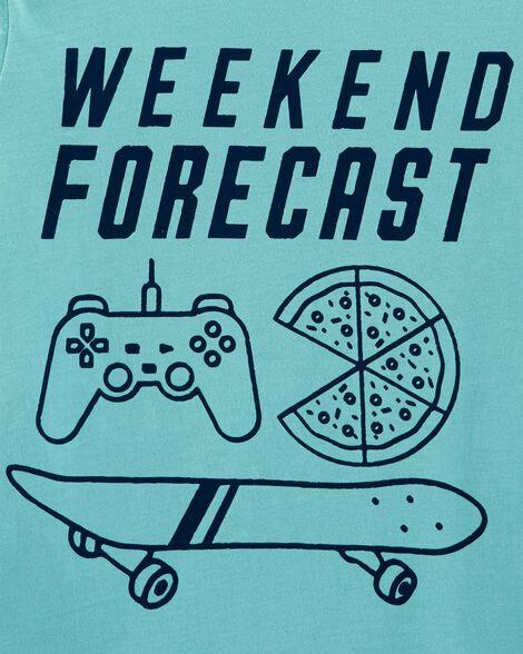 Weekend Forecast Jersey Tee