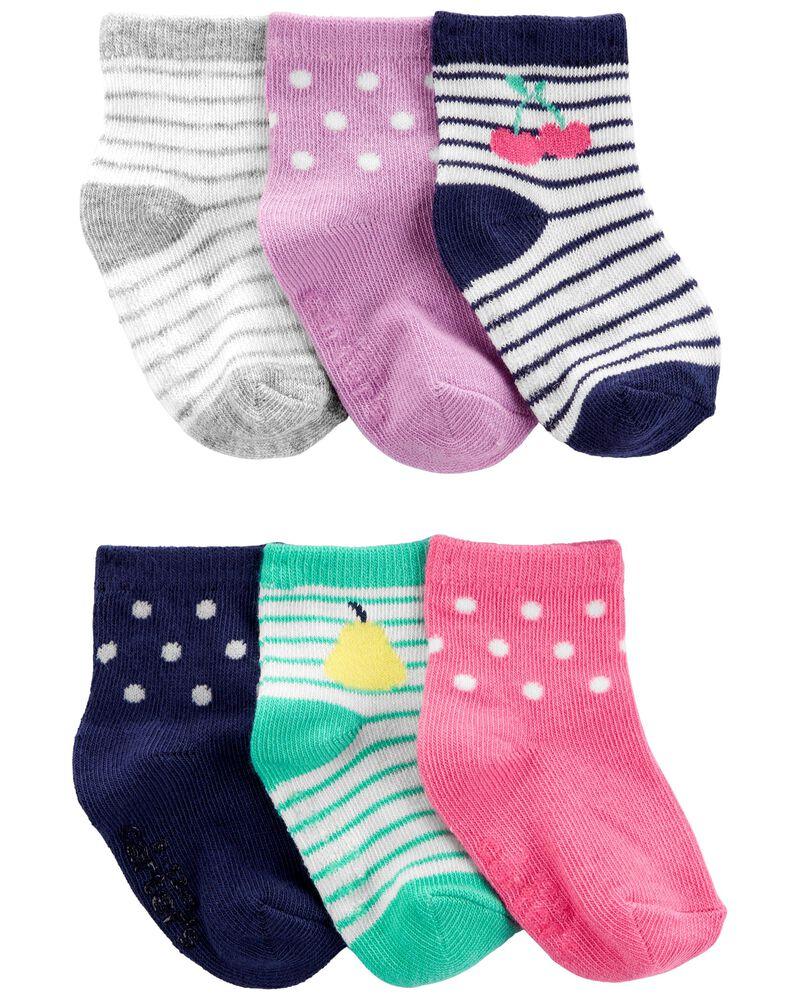6 paires de chaussons, , hi-res