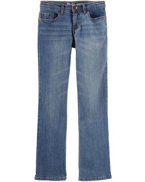 Jeans coupe botte - délavage bleu Upstate