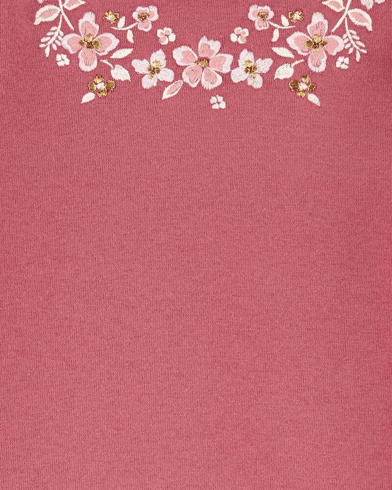 Floral Fleece Pullover, , hi-res