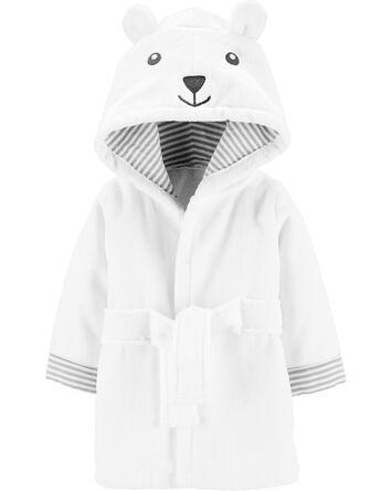 Bear Hooded Bath Robe