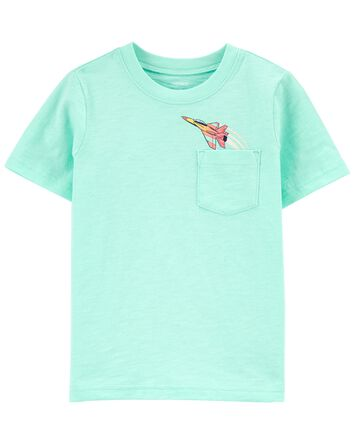 Airplane Pocket Tee