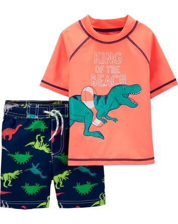 Dinosaur Rashguard Set